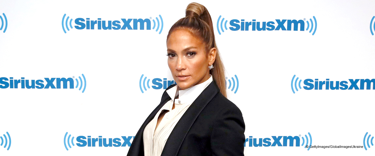 Jennifer Lopez Is a Dazzling Cowgirl, Flaunting Her Ample Cleavage in This Shimmering Outfit