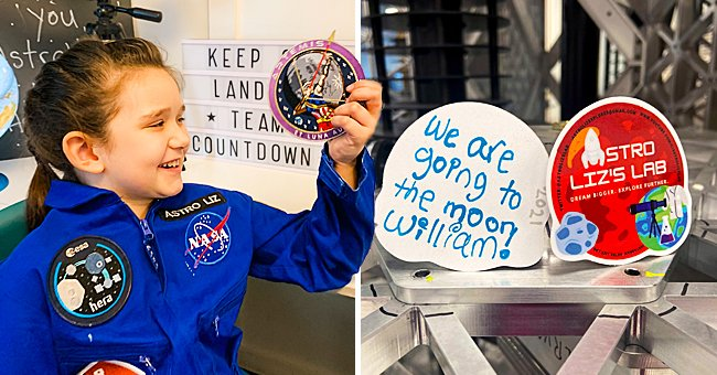7-Year-Old Elizabeth Norman Will Be the First Child to Send an Item in a Time Capsule to the Moon