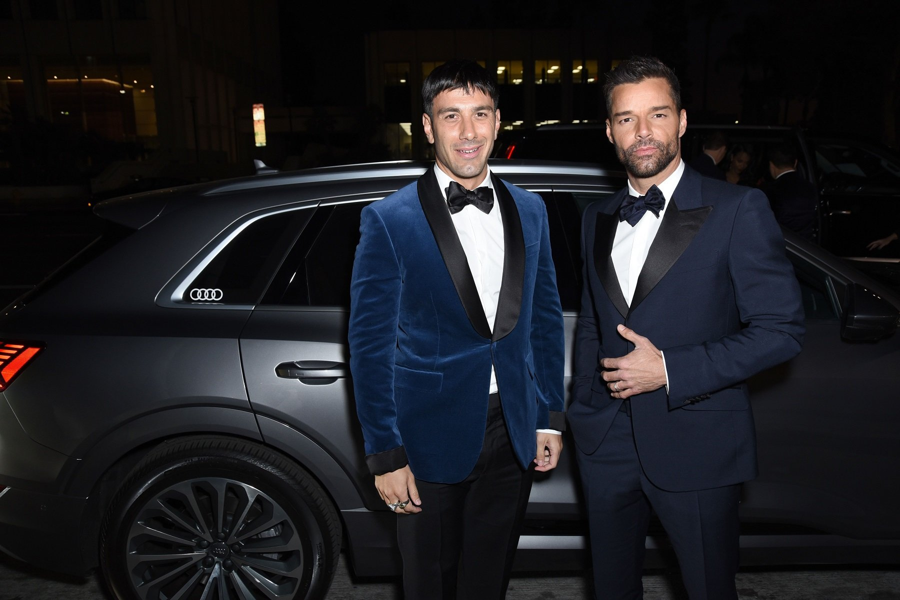 Jwan Yosef and Ricky Martin at the LACMA Art + Film Gala Presented By Gucci on November 02, 2019, in Los Angeles, California | Photo: Presley Ann/Getty Images