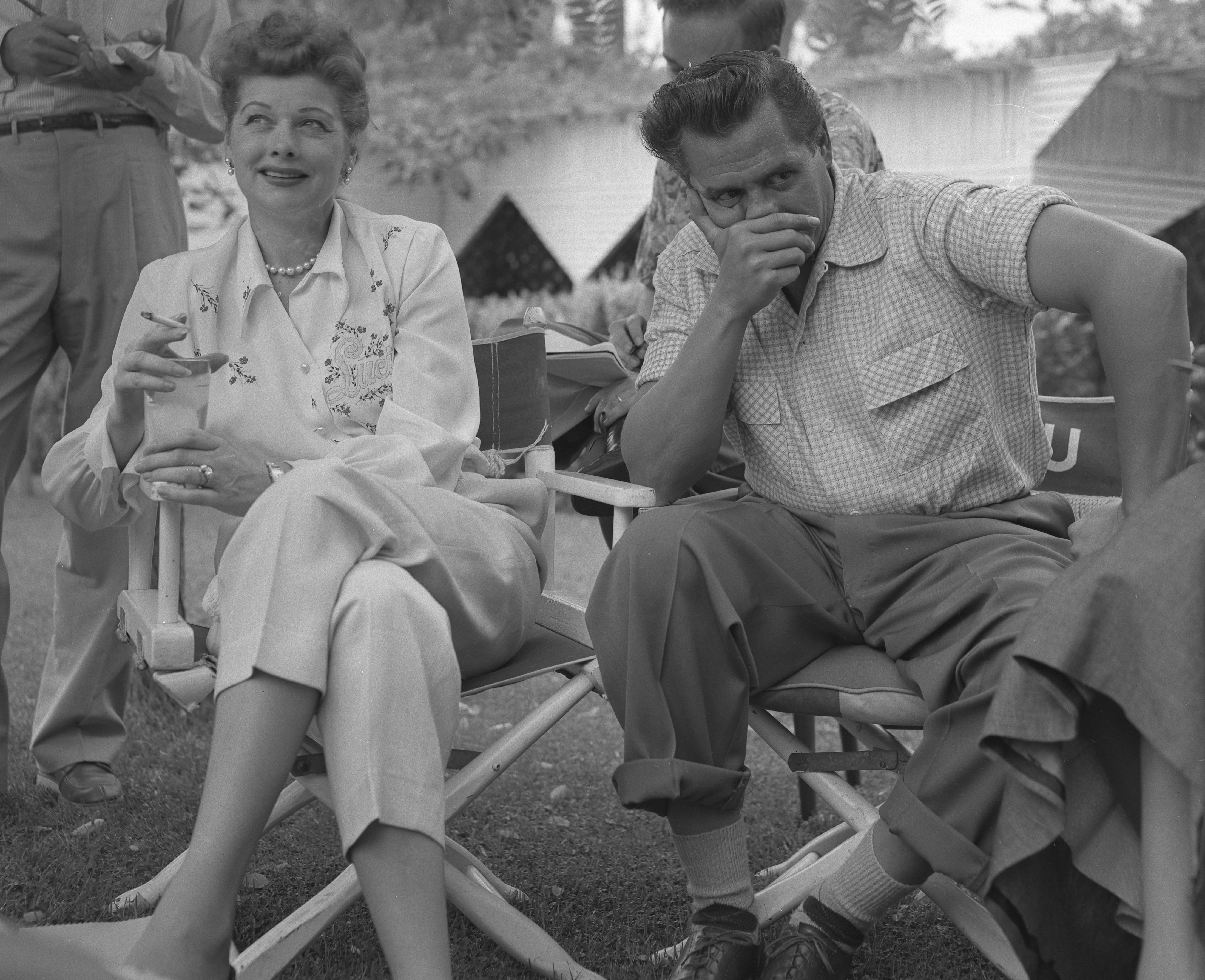 Lucille Ball and Desi Arnaz. | Source: Wikimedia Commons