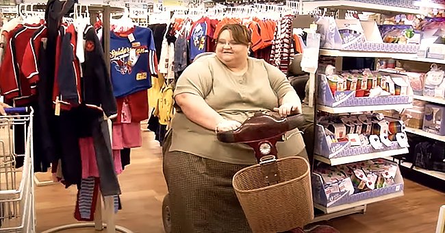 """Melissa Morris during her time on """"My 600-LB Life.""""   Photo:  youtube.com/channel/TCL"""