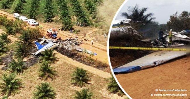 Accidente aereo en Colombia deja 14 fallecidos