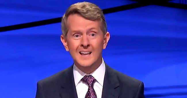 "Ken Jennings discussing his experience of hosting ""Jeopardy!"", January 2021. 