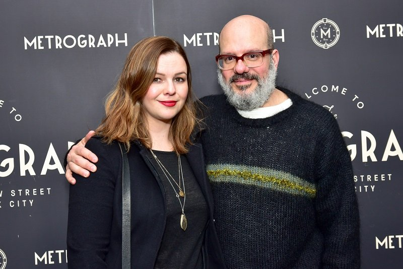 Amber Tamblyn and David Cross on March 22, 2018 in New York City   Photo: Getty Images