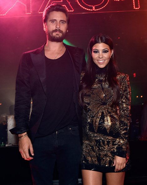 Scott Disick and Kourtney Kardashian at The Mirage Hotel & Casino on May 23, 2015. | Photo: Getty Images