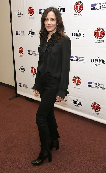 """Mary Louise Parker at the cast photo call for """"Laramie: A Legacy"""" on September 24, 2018 