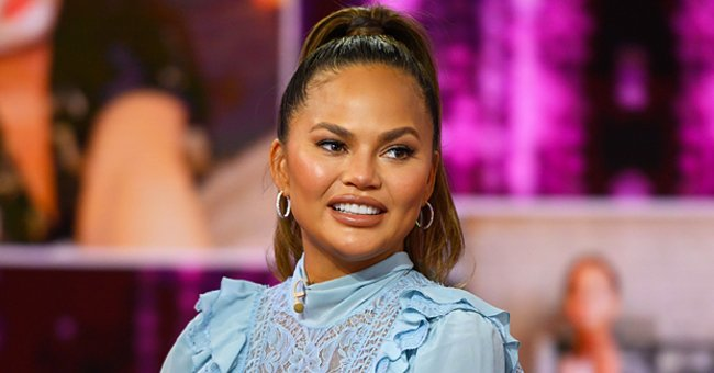 Chrissy Teigen Melts Hearts Showing off Adorable Son Miles in a Cool Outfit in This Sweet Photo