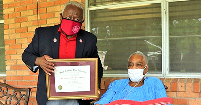 South Carolina State University President Honors 103-Year-Old Woman Who Survived COVID-19