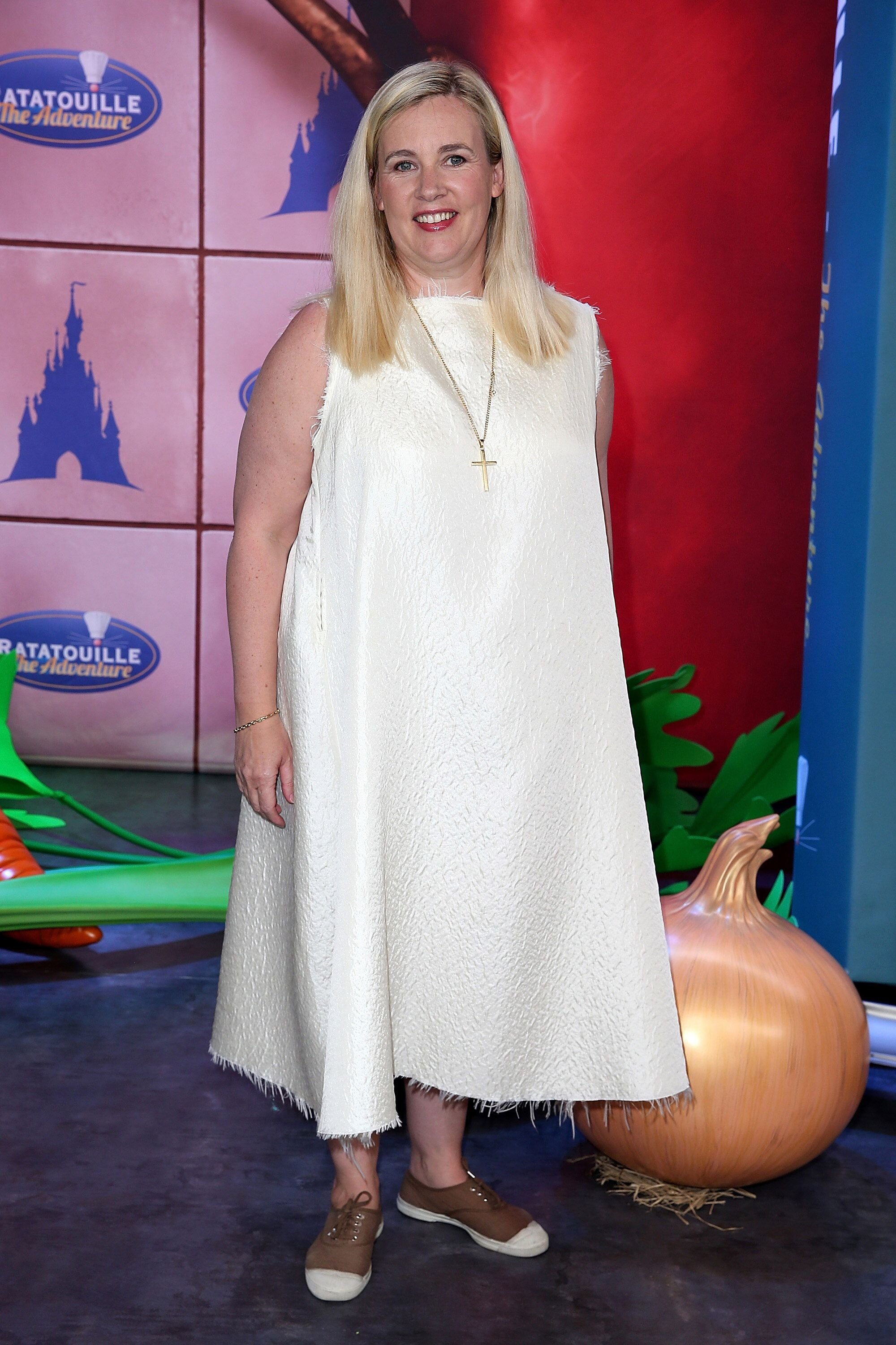 Hélène Darroze à Disneyland Resort Paris le 21 juin 2014 à Paris, France. | Photo : Getty Images