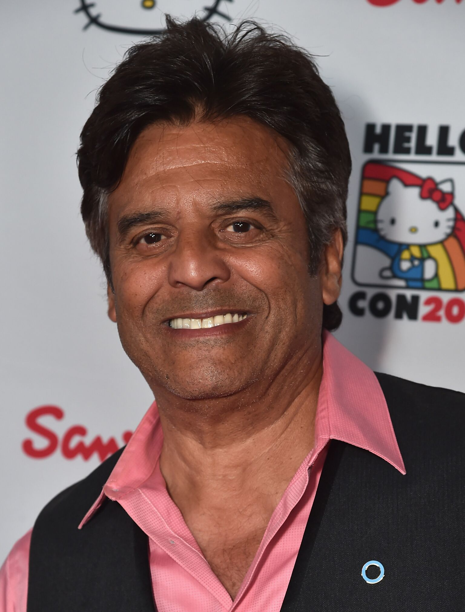 Actor Erik Estrada arrives to Hello Kitty Con 2014 Opening Night Party Co-hosted by Target  | Getty Images