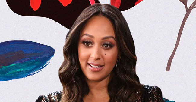 """Tamera Mowry-Housley visits Hallmark Channel's """"Home & Family"""" on December 07, 2020 in Universal City, California.
