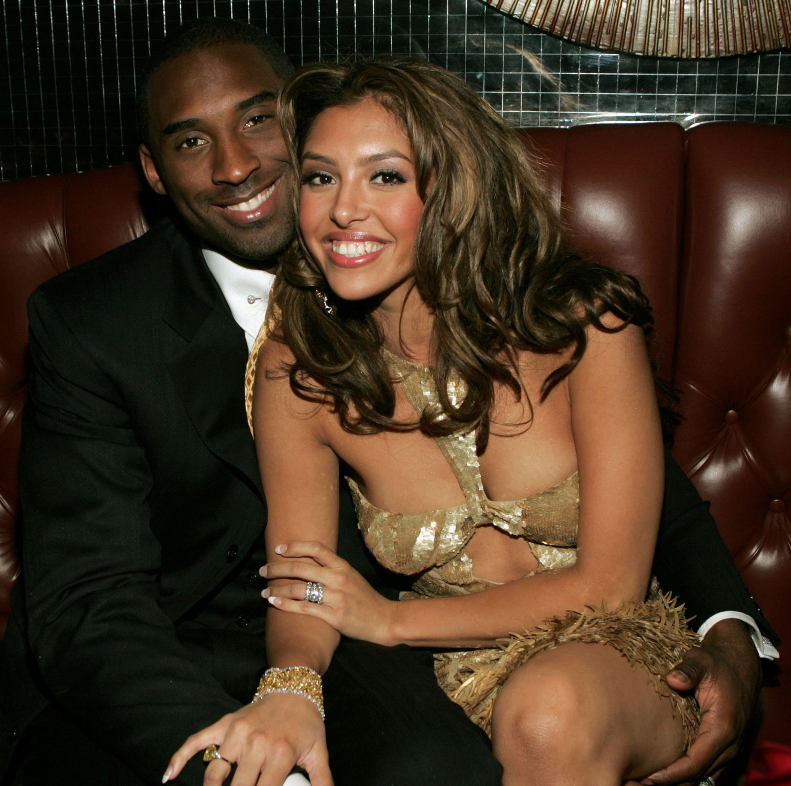 Kobe and Vanessa Bryant at the World Music Awards on September 15, 2005 in Las Vegas. | Photo: Getty Images