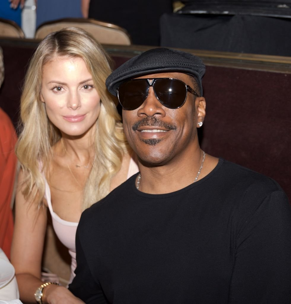 Eddie Murphy and Paige Butcher at an event in June 2017. | Photo: Getty Images
