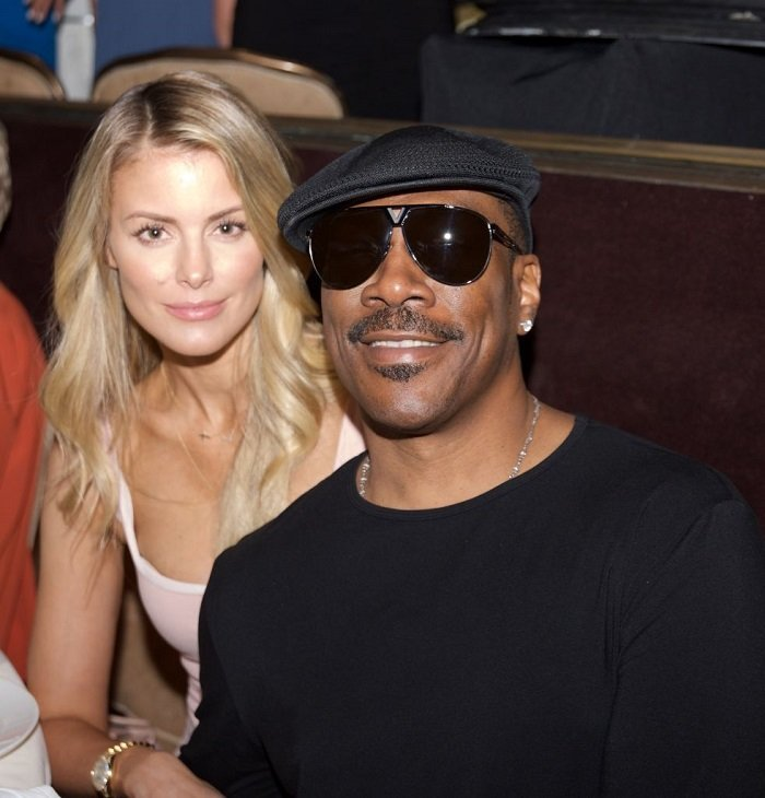 Eddy Murphy and Paige Butcher l Picture: Getty Images