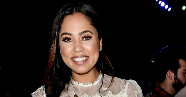 Ayesha Curry Flashes White Smile Posing in Cute Dresses with Adorable Daughters Riley & Ryan