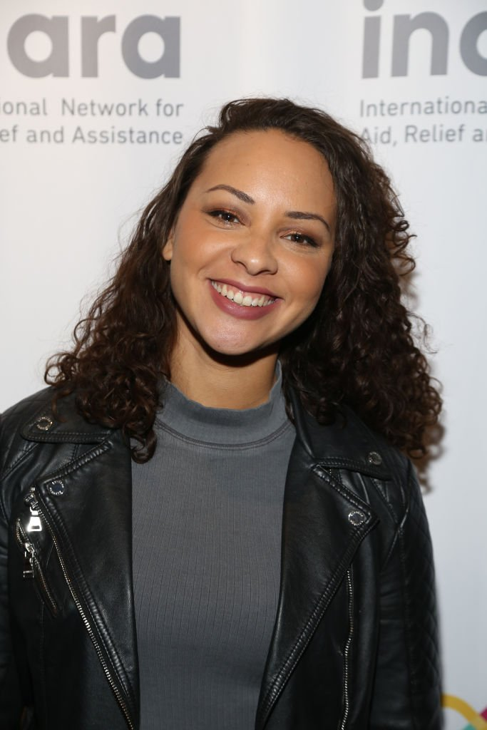 "Jasmine Cephas Jones attends the ""Songs For Syria"" photo call at WP Theater on November 04, 2019 in New York City. 
