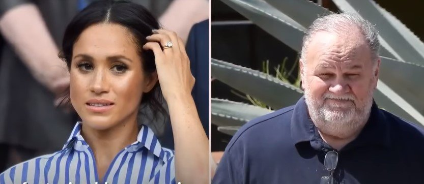 Thomas Markle und Meghan Markle | Quelle: Screenshot / YouTube / America Today Network