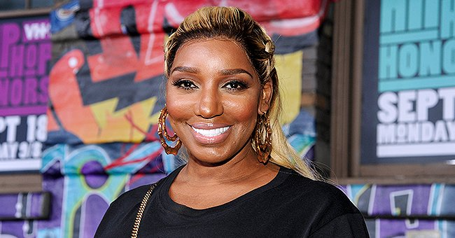 NeNe Leakes from RHOA Flashes Wide Smile in Her Floral Look during Visit to 'Live with Kelly and Ryan'