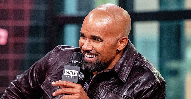 SWAT Star Shemar Moore Shows off Toned Body Wearing Only a Military Cap and Shorts (Photo)