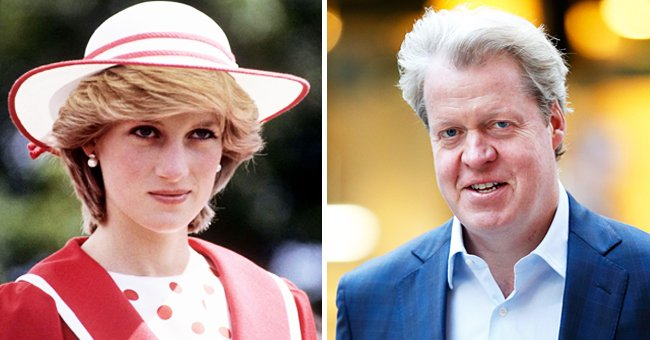 Princess Diana's Brother Charles Spencer Posts Rare Photo from Their Childhood — See It Here