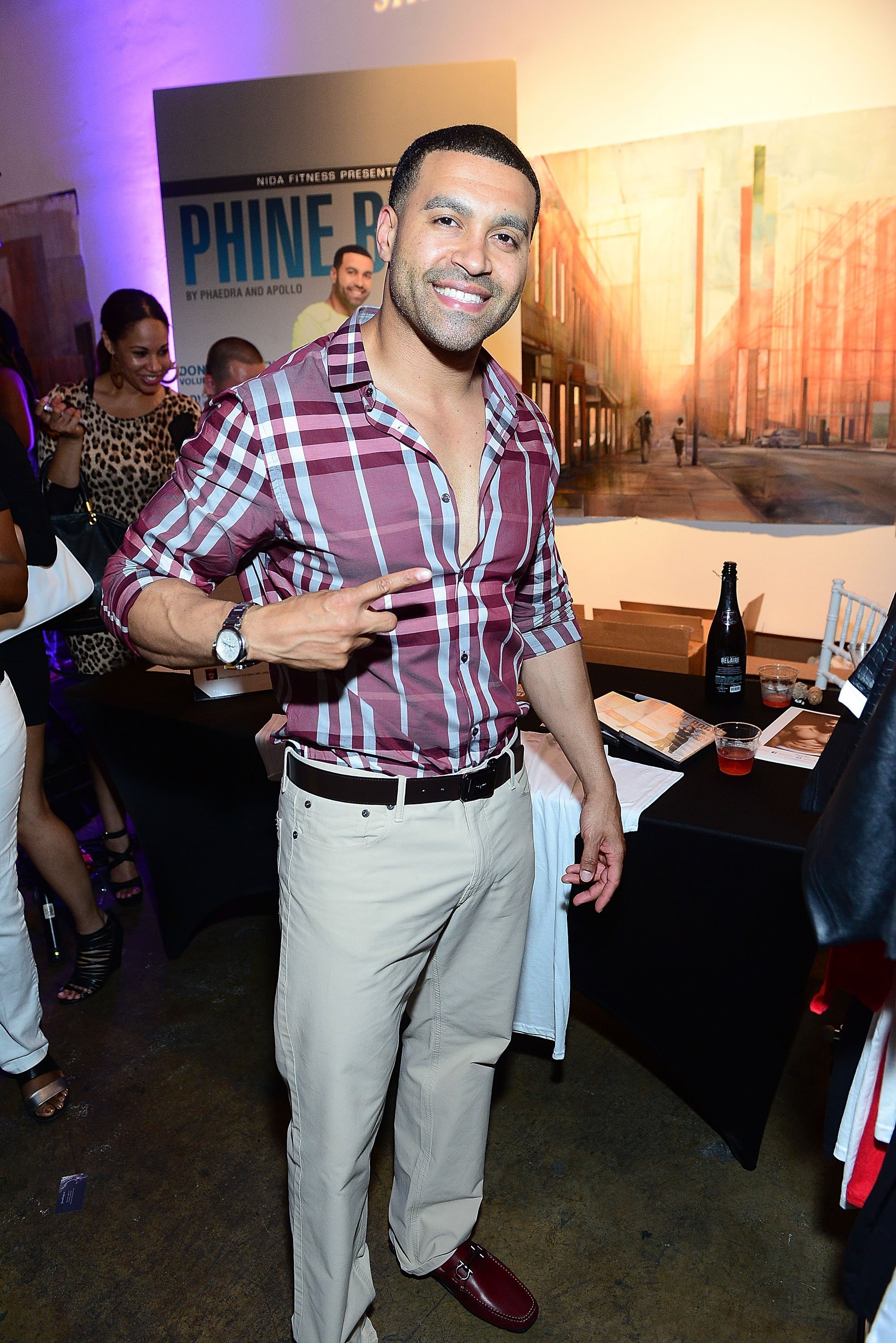 Apollo Nida attends the Sister 2 Sister Ladies Night at Mason Murer Art Gallery on May 8, 2014 | Photo: GettyImages