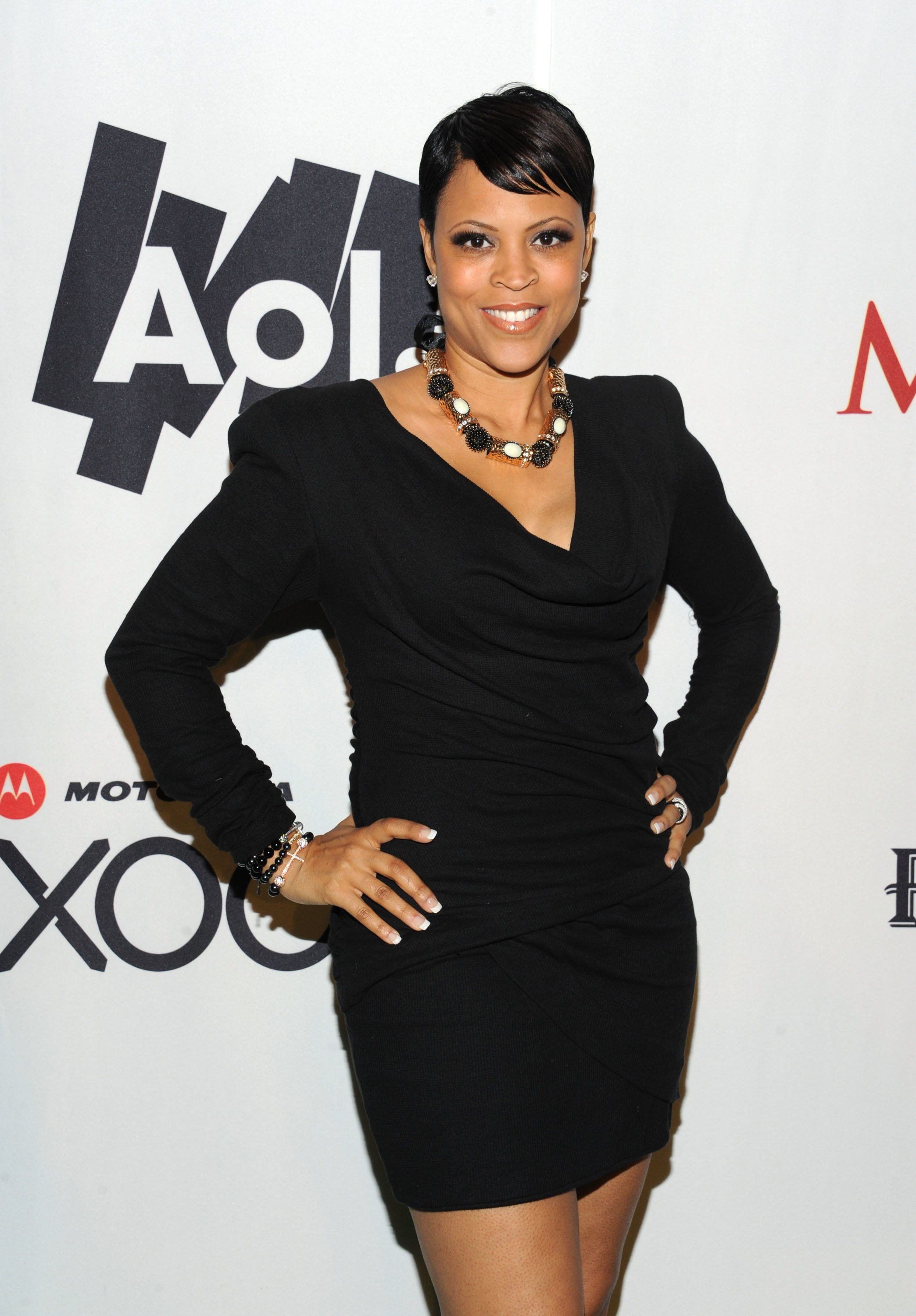 Shaunie O'Neal poses with AOL at the Maxim Party Powered by Motorola Xoom at Centennial Hall at Fair Park on February 5, 2011 in Dallas, Texas | Photo: Getty Images