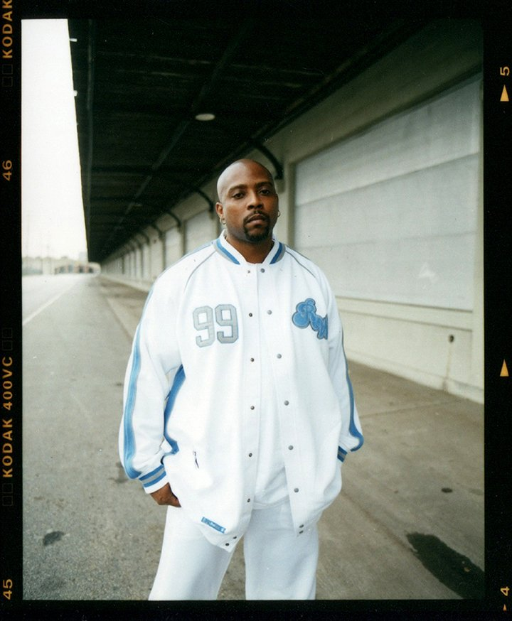 Nate Dogg poses for a portrait session in circa 2001 in Los Angeles. I Image: Getty Images.