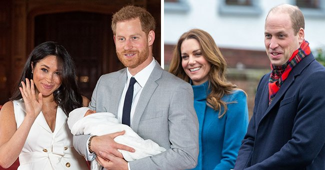Fans React to Prince William and Kate Middleton Greeting Archie with the Same Pic as Last Year