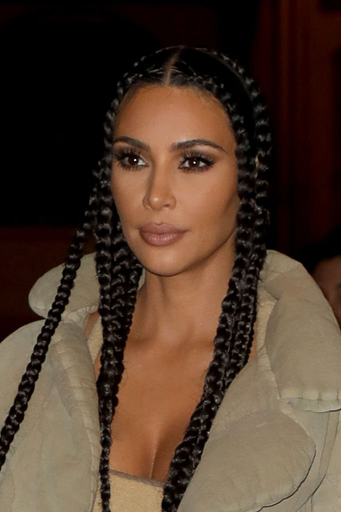 Kim Kardashian West at a restaurant on March 02, 2020 in Paris, France | Photo: Getty Images