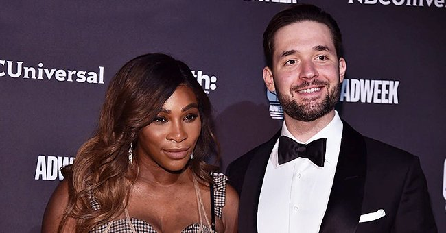 Serena Williams' Husband Alexis Ohanian Carries Their Cute Daughter Olympia on His Shoulders