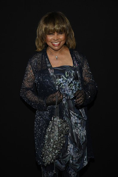 Tina Turner at the Giorgio Armani Prive Haute Couture Fall Winter 2018/2019 show on July 3, 2018 in Paris, France. | Photo: Getty Images