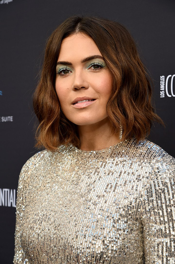 Mandy Moore attending the Los Angeles Confidential Magazine Impact Awards in Los Angeles, California. I Image: Getty Images.