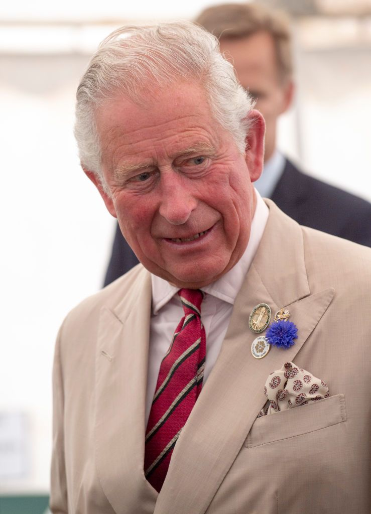Prince Charles during a visit to Sandringham Flower Show 2019 at Sandringham House on July 24, 2019 in King's Lynn. | Getty Images