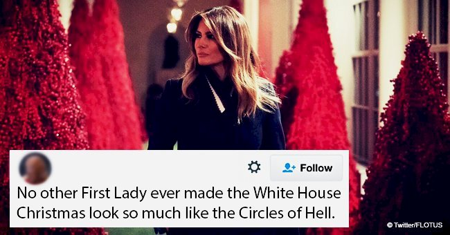 Melania Trump dragged after unveiling extravagant White House Christmas decorations