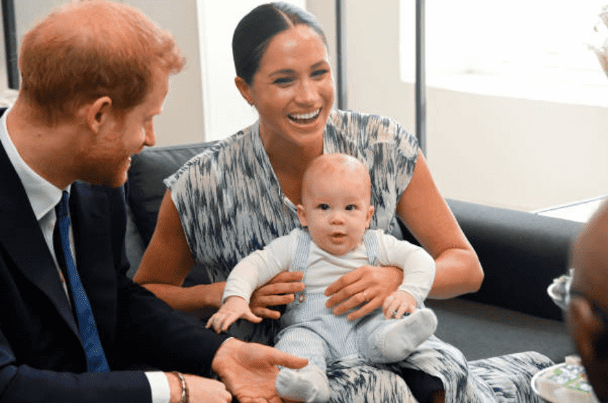 During their Africa tour, Prince Harry and Meghan Markle and their son, Archie Mountbatten-Windsor meet Archbishop Desmond Tutu at the Legacy Foundation, on September 25, 2019, in Cape Town, South Africa | Source: Getty Images