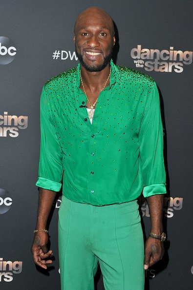 "Lamar Odom at the ""Dancing With The Stars"" Season 28 show in Los Angeles, California.