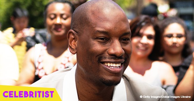 Tyrese Gibson turns up the heat by sharing intimate maternity photos with his wife