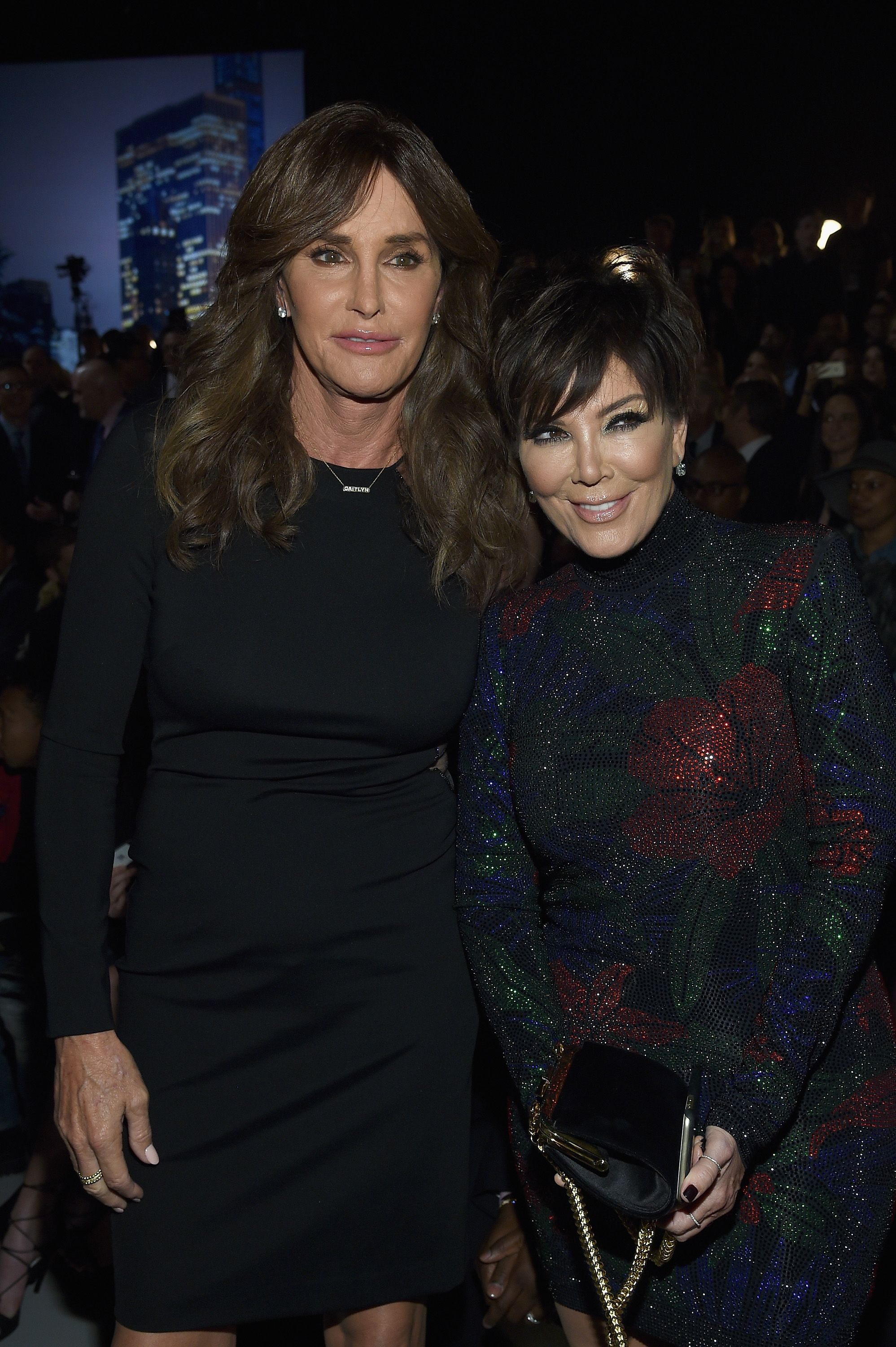 Caitlyn Jenner and Kris Jenner at the 2015 Victoria's Secret Fashion Show at Lexington Avenue Armory on November 10, 2015   Photo: Getty Images