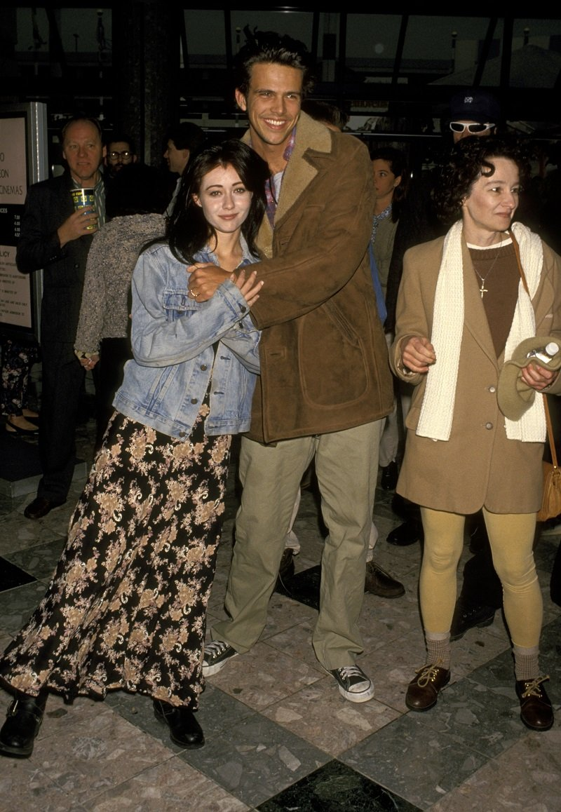 Shannen Doherty and Ashley Hamilton in December 1993 | Photo: Getty Images