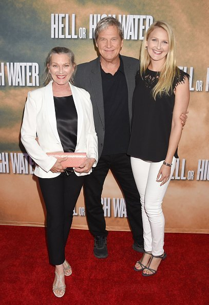 Susan Bridges, Jeff Bridges, Haley Roselouise at ArcLight Hollywood on August 10, 2016 in Hollywood, California. | Photo: Getty Images