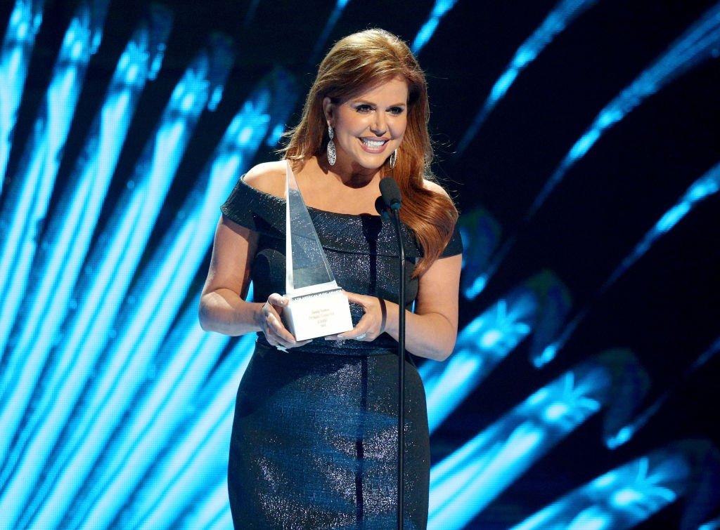 María Celeste Arrarás en los Latin American Music Awards 2018.  Fuente: Getty Images