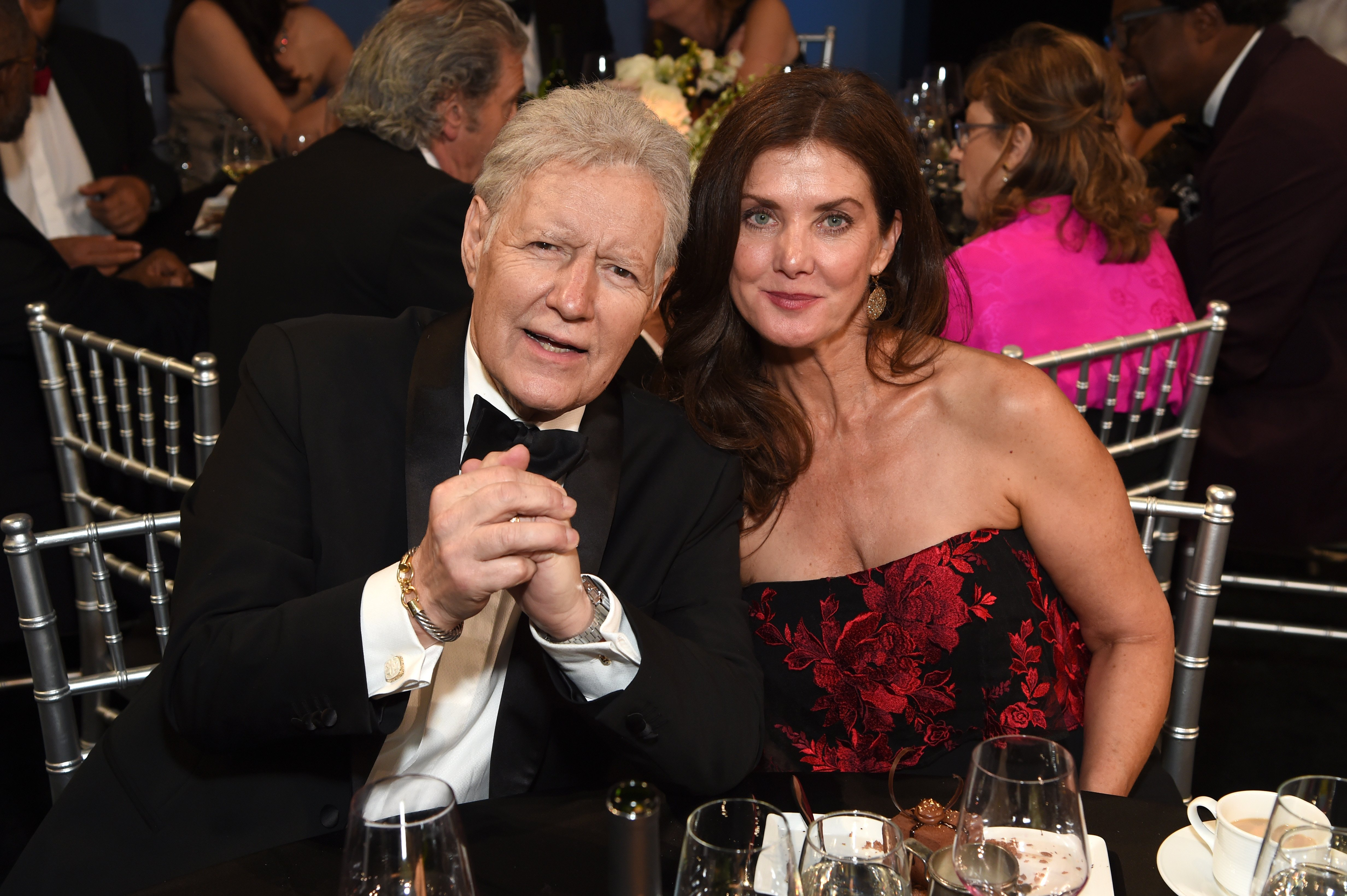 Alex Trebek and Jean Currivan Trebek attend the 47th AFI Life Achievement Award honoring Denzel Washington on June 06, 2019, in Hollywood, California. | Source: Getty Images.
