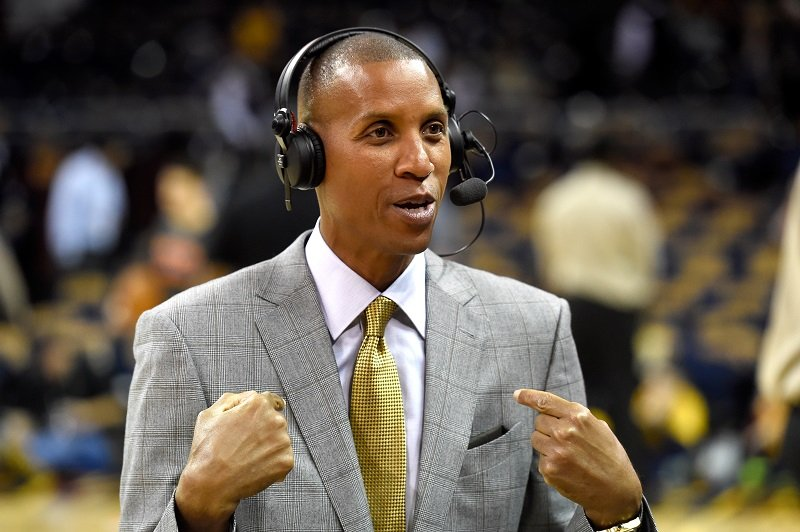 Reggie Miller on October 30, 2014 in Cleveland, Ohio | Photo: Getty Images
