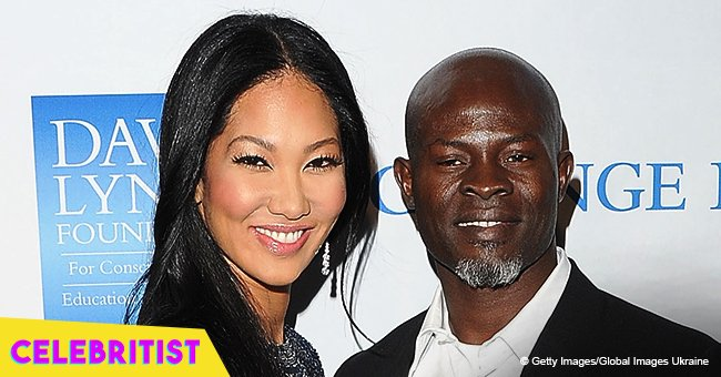Kimora Lee Simmons' ex Djimon Hounsou shares pics with son in Africa, showing off their resemblance