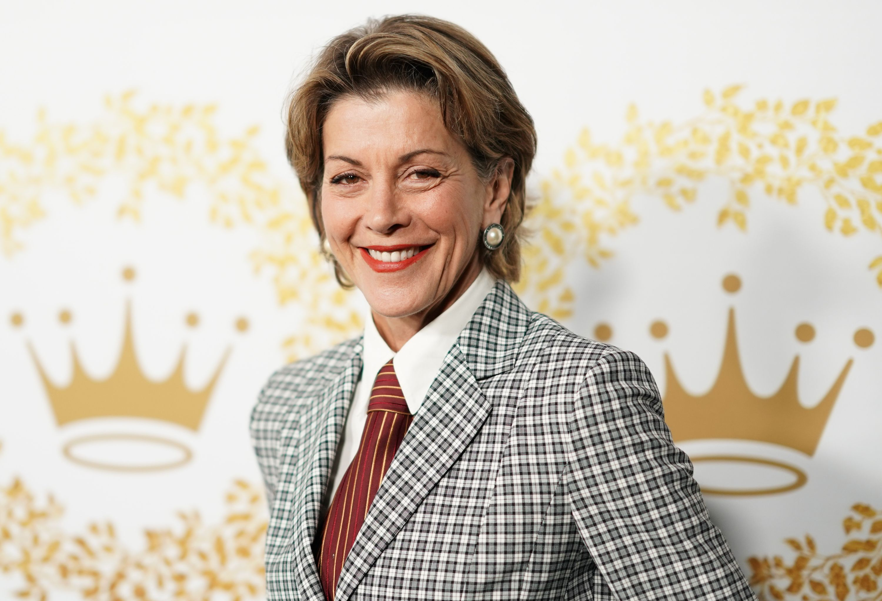 Wendie Malick at Hallmark Channel And Hallmark Movies And Mysteries 2019 Winter TCA Tour in Pasadena, California | Source: Getty Images