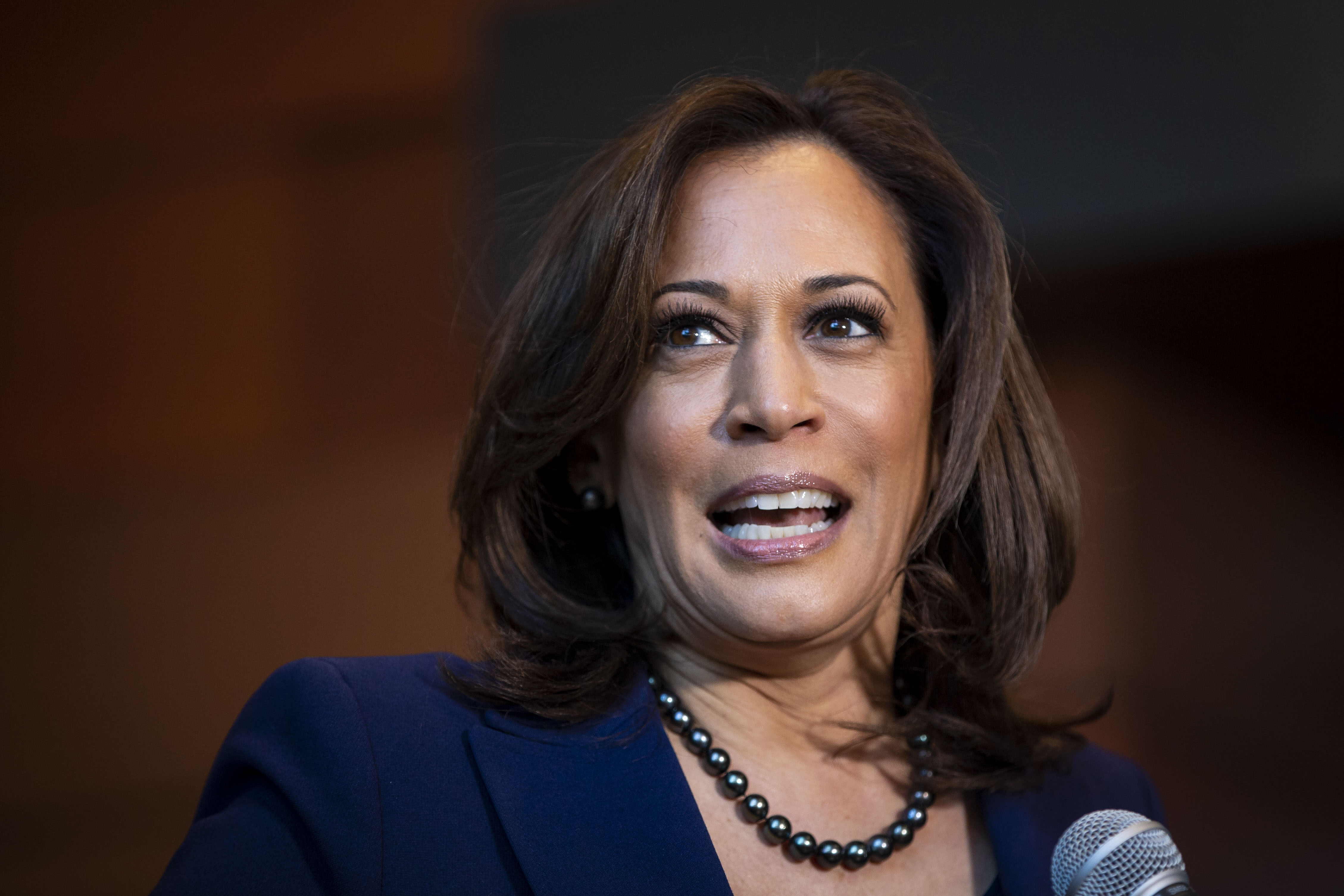 Kamala Harris following her announcement for candidacy  of President, in Washington D.C., January, 2019. | Photo: Getty Images.