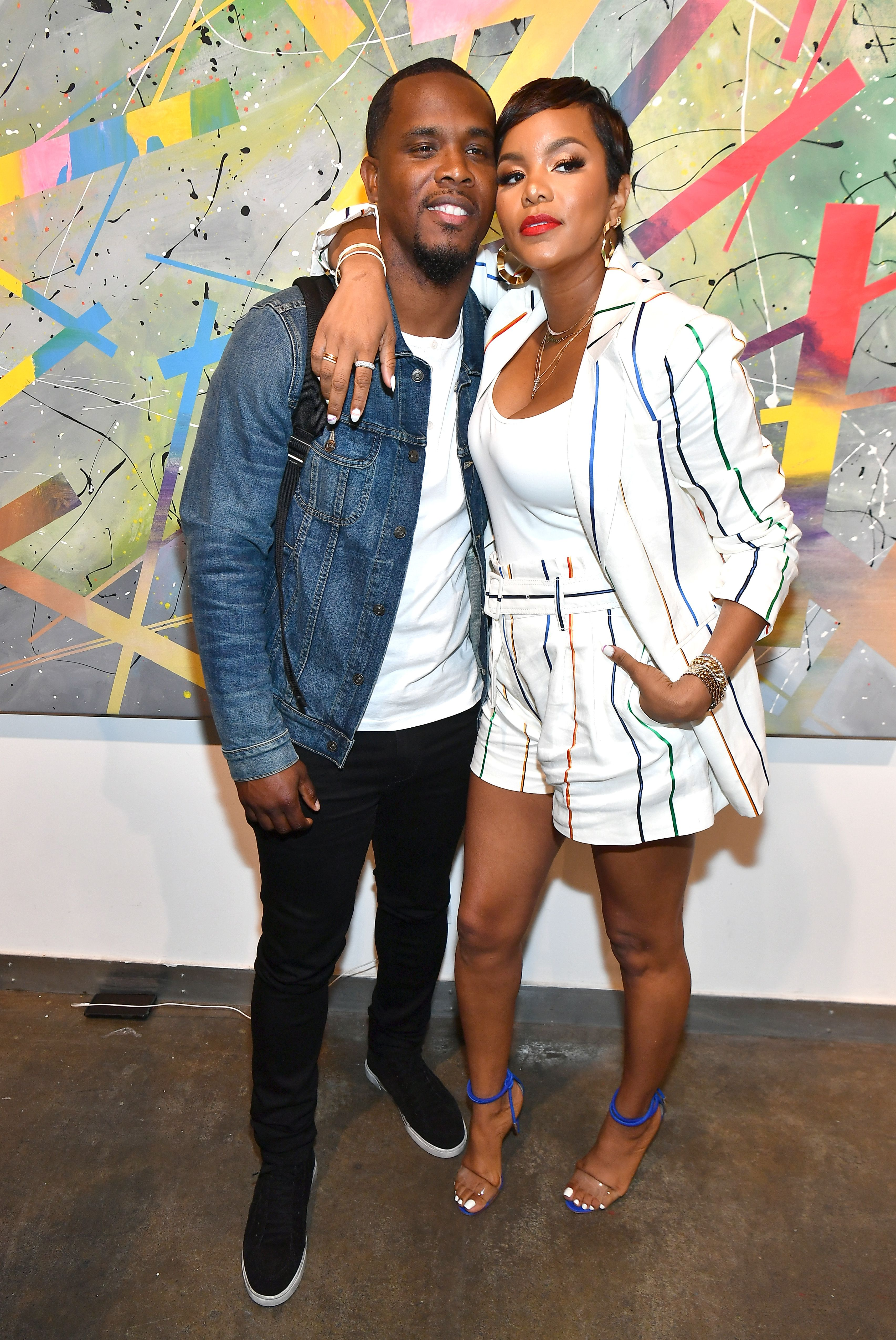 Tommicus Walker and LeToya Luckett Walker during the 2019 Black Love Summit at Mason Fine Art Gallery on July 20, 2019. | Source: Getty Images