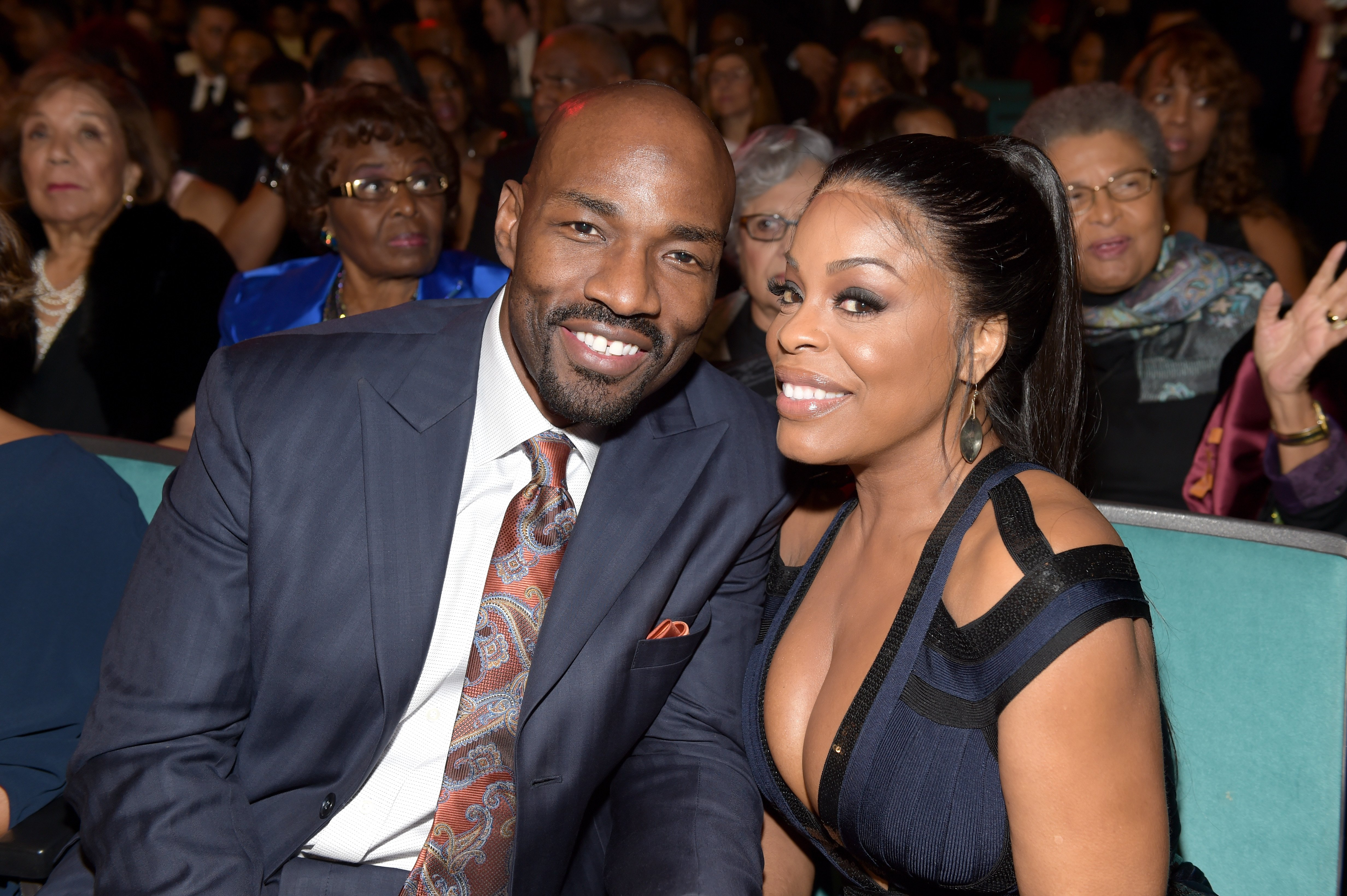Jay Tucker and Niecy Nash at the 48th NAACP Image Awards in 2017. | Photo: Getty Images