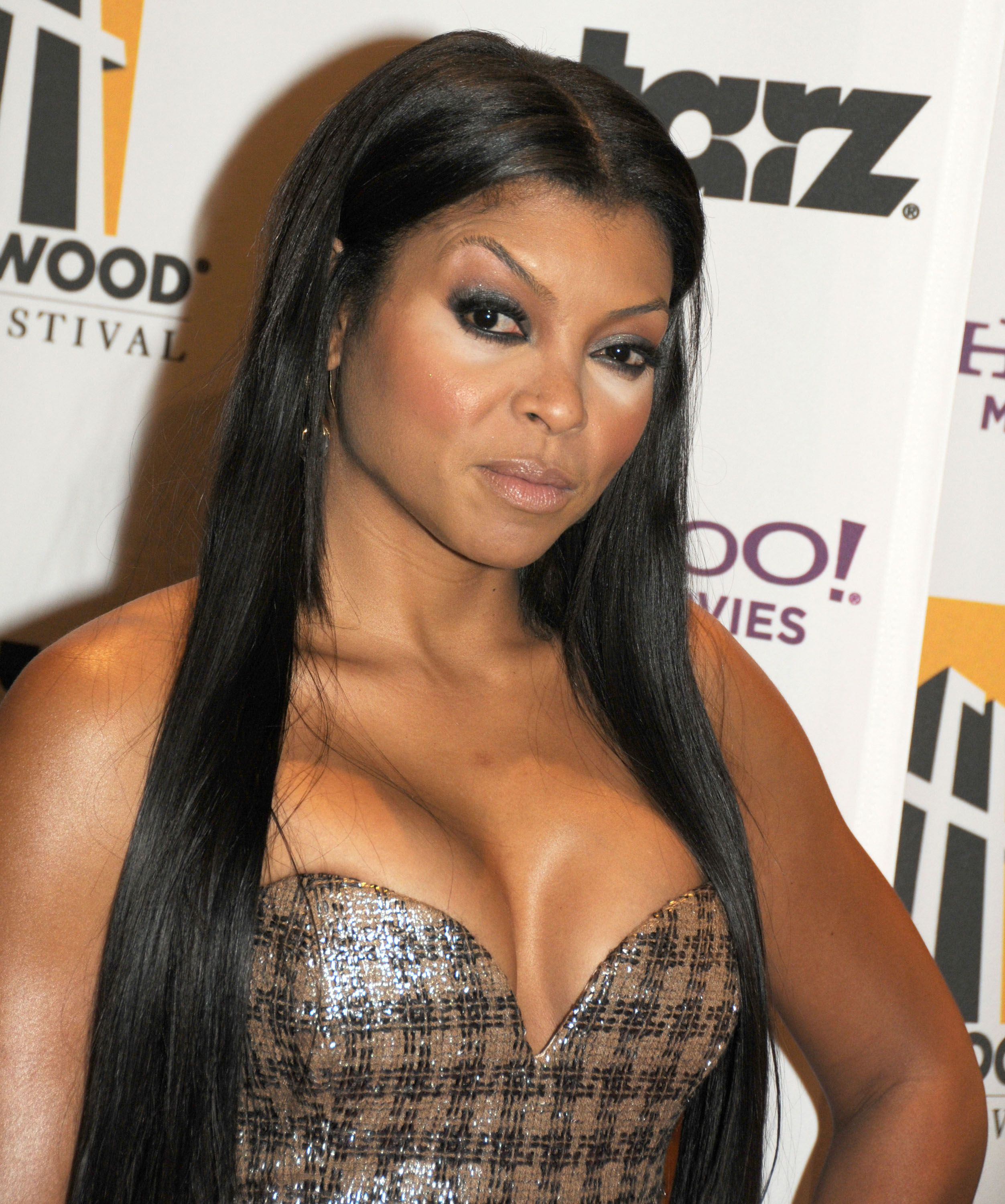 Taraji P. Henson during the 13th Annual Hollywood Awards Gala held at the Beverly Hilton Hotel on October 26, 2009 | Photo: Getty Images