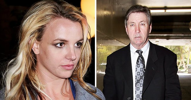 Portraits of Britney Spears and her father Jamie   Photo: Getty Images